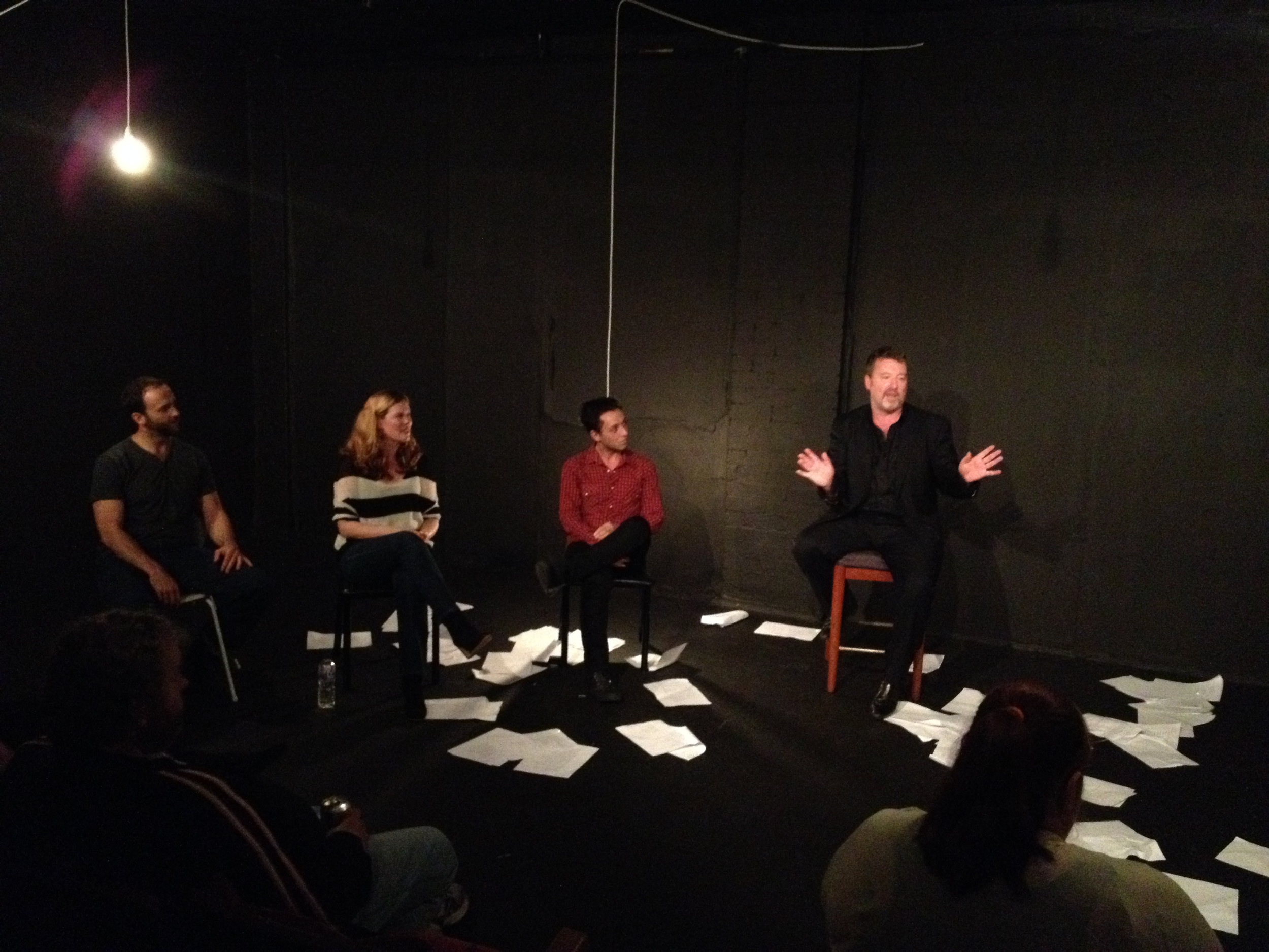 Post-show Q&A with Ross Mueller