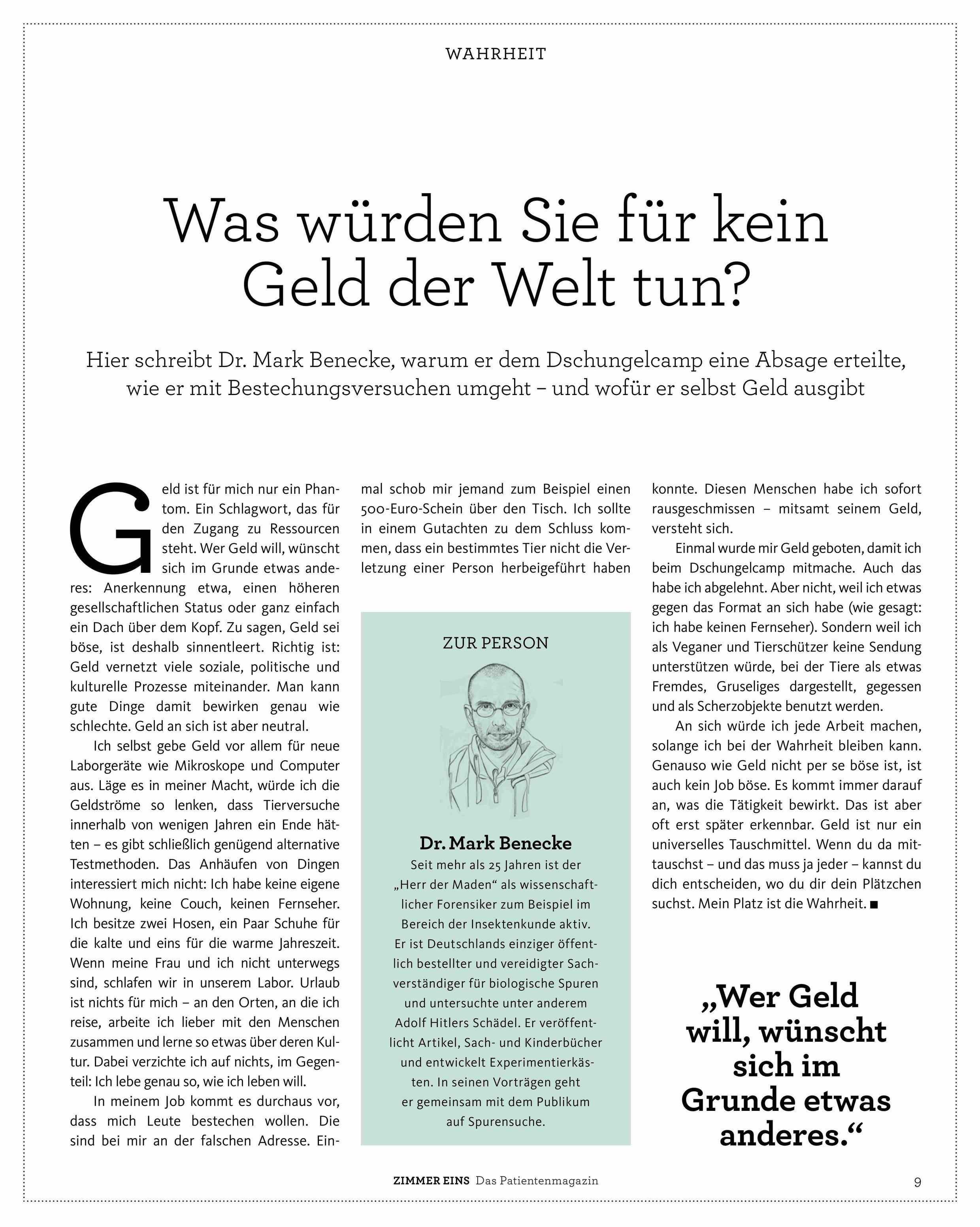 kbv_magazin_mark_benecke_was_wuerden_sie_fuer_geld.jpg
