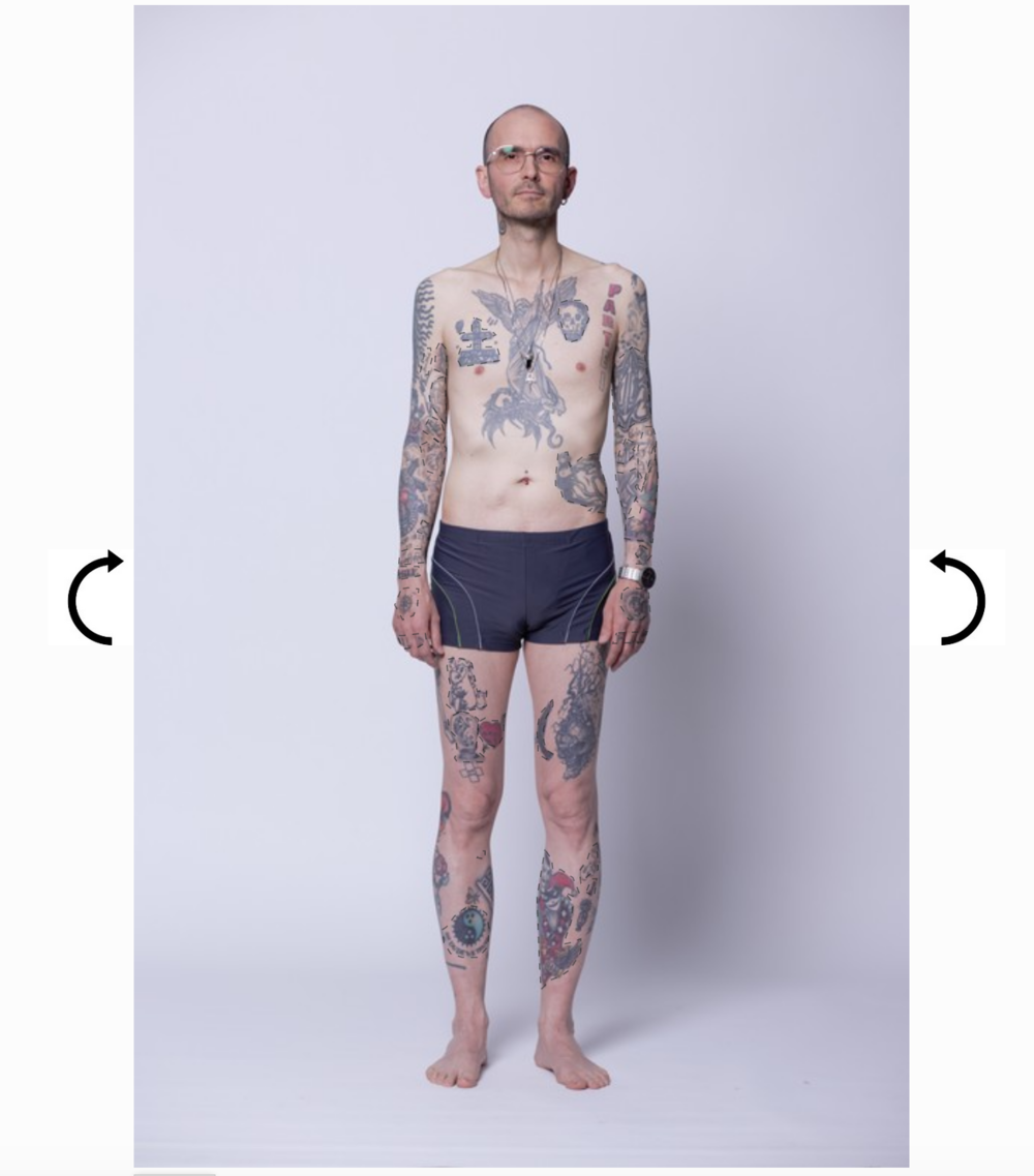 Menschen tattoo alte Ältere Menschen