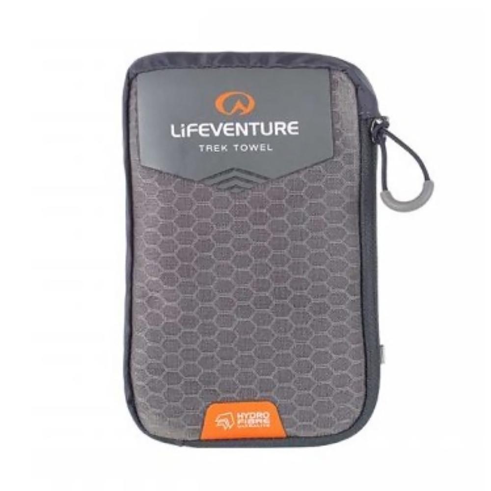 Lifeventure HydroFibre Trek Towel - Large (Grey)