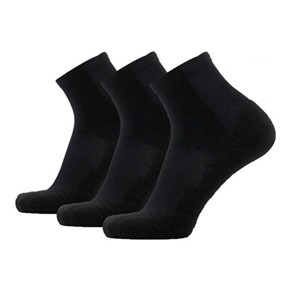 Black Ankle Socks (3 Pairs)