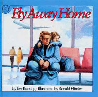 About a boy and his father living in an airport.