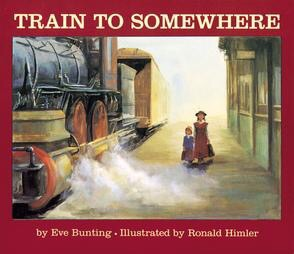 A historical fiction book about an orphan train.