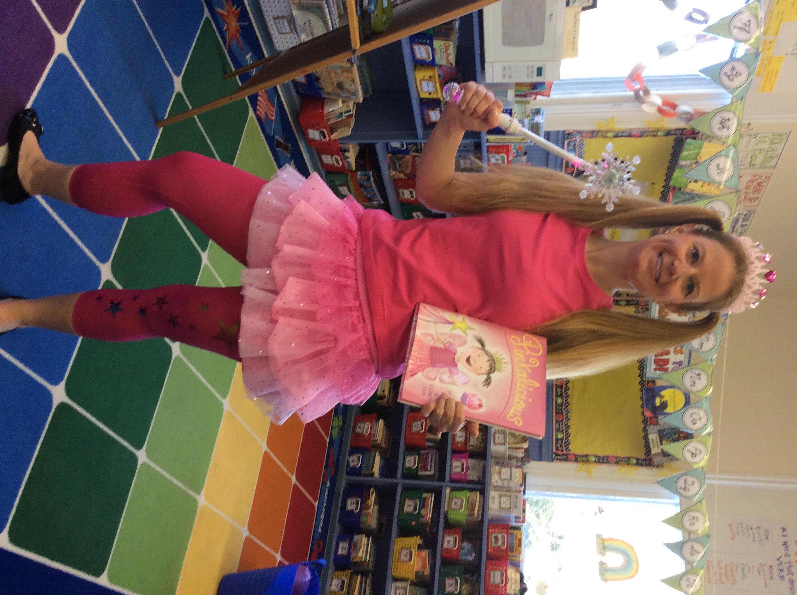 Mrs. Mauro is Pinkalicious!