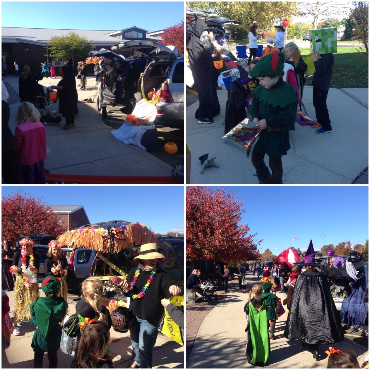 Trunk or Treating at Southold Elementary School