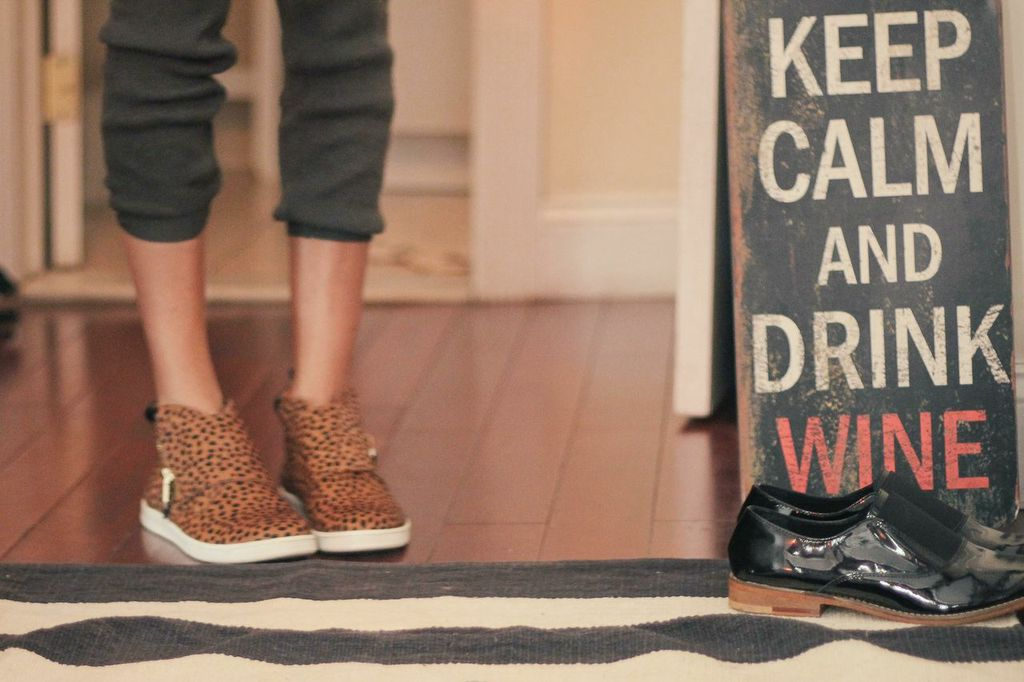 waiting for saturday : ann brady rebecca minkoff sneakers