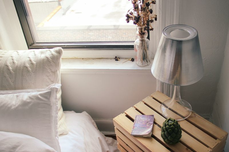 waiting for saturday : fernanda de la puente bedside table