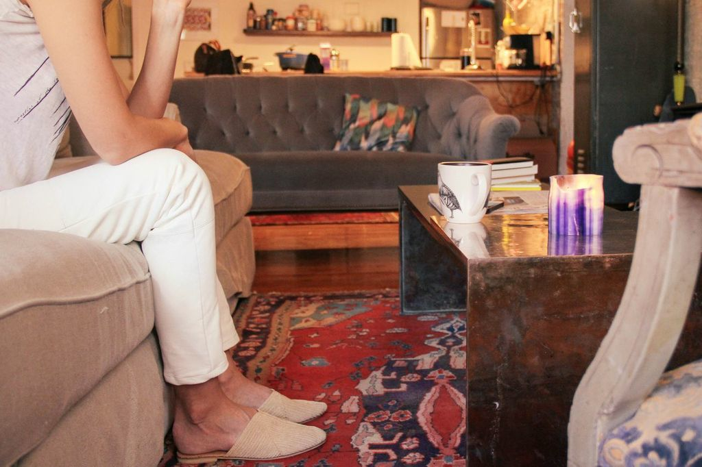 waiting for saturday : lyndsey butler veda slippers