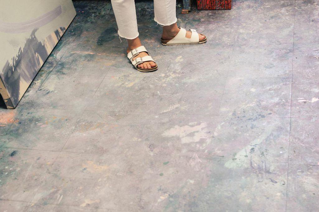 waiting for saturday : catherine pearson white birkenstocks