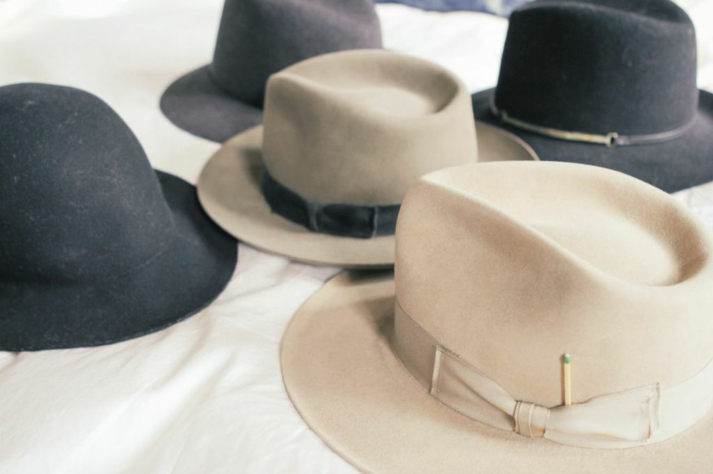 find a hat to wear and to display