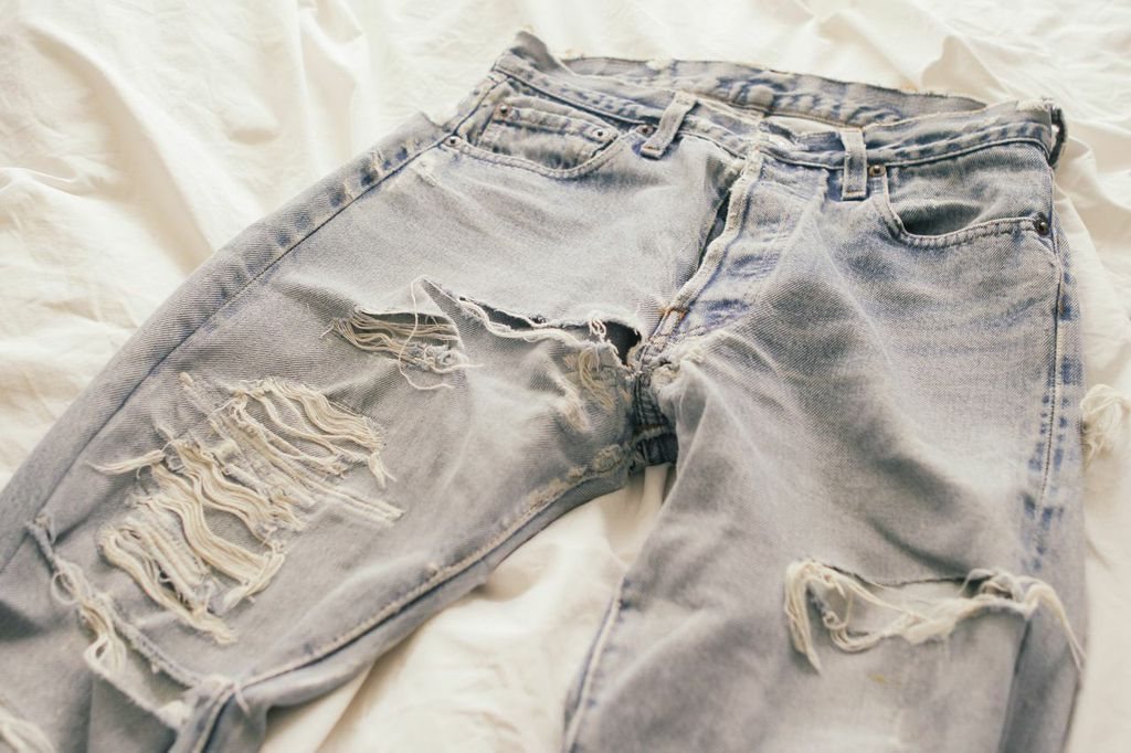 waiting for saturday : vintage levi's