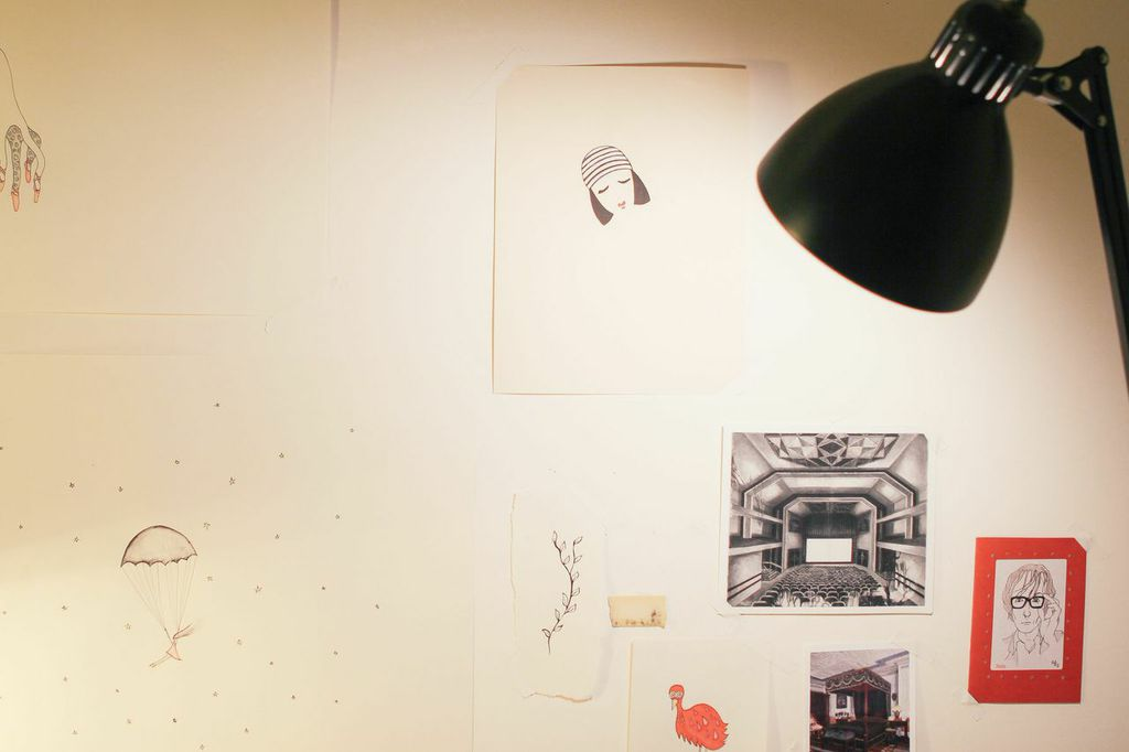 waiting for saturday : cosi theodoli-braschi sketches