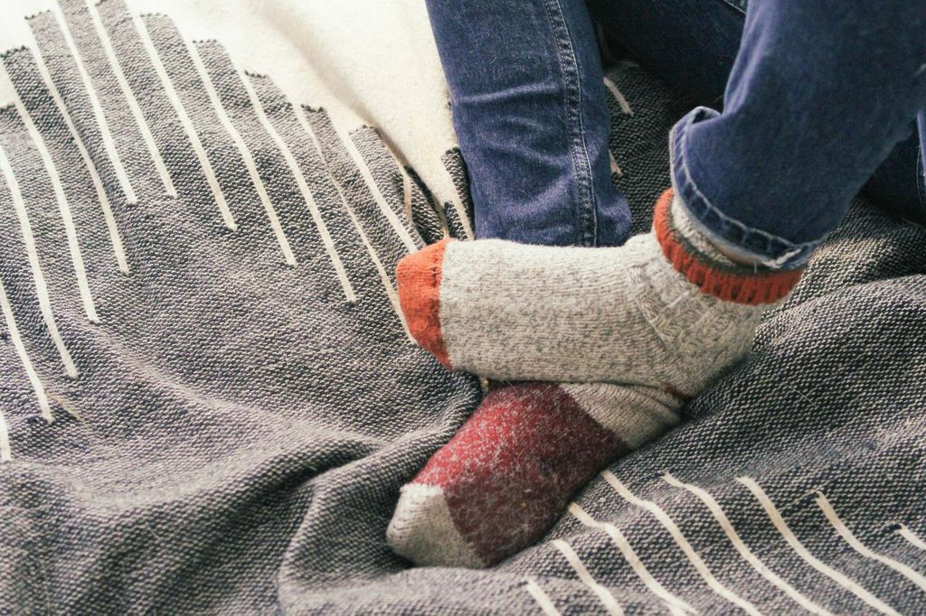 waiting for saturday : helen levi l.l. bean wool socks