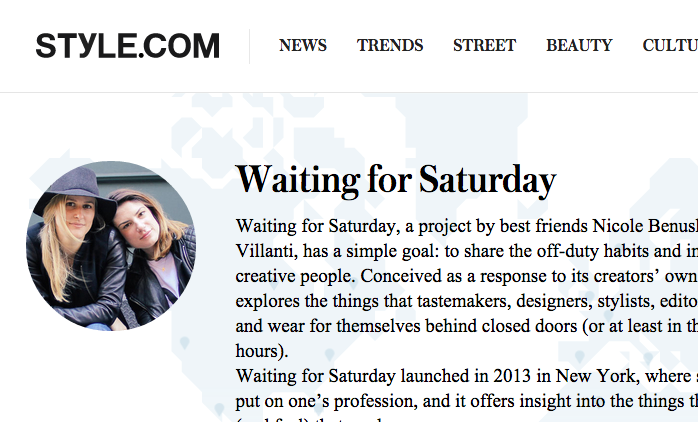 contributors, style.com