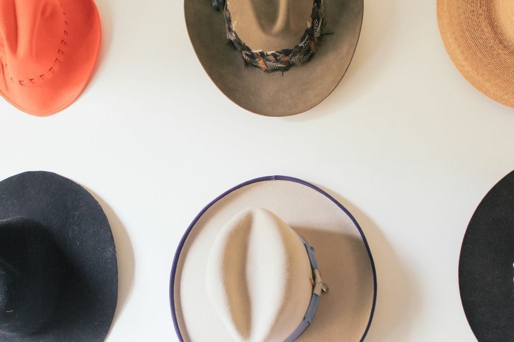 waiting for saturday : clare vivier hats