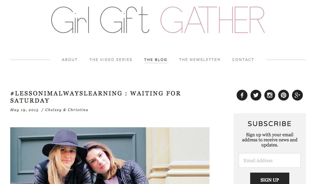 girl gift gather