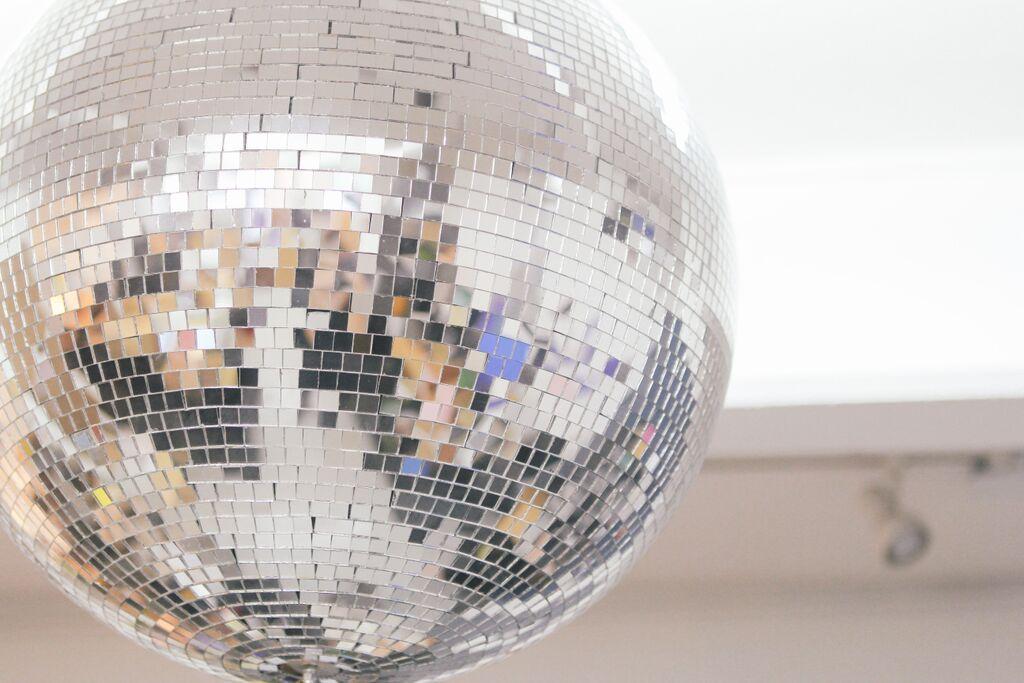 waiting for saturday : disco ball catbird