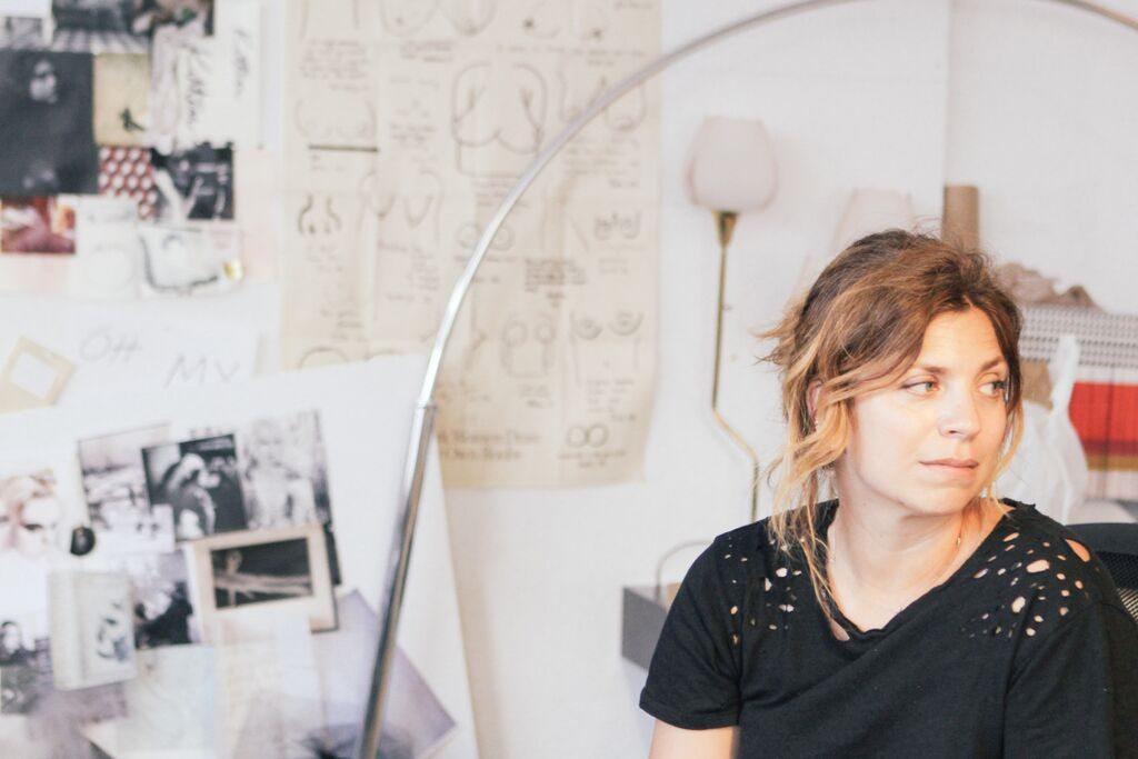 waiting for saturday : rony catbird founder in studio