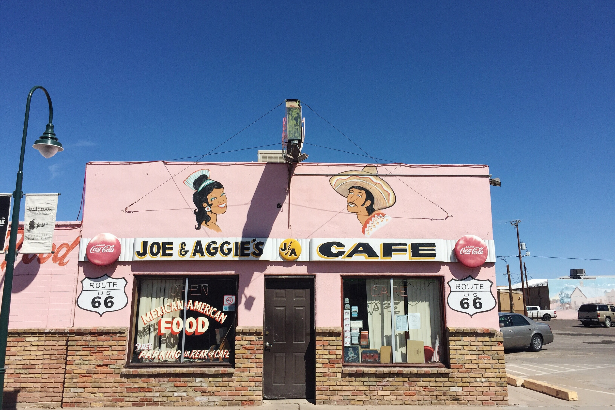 Joe & Aggie's in Holbrook, AZ