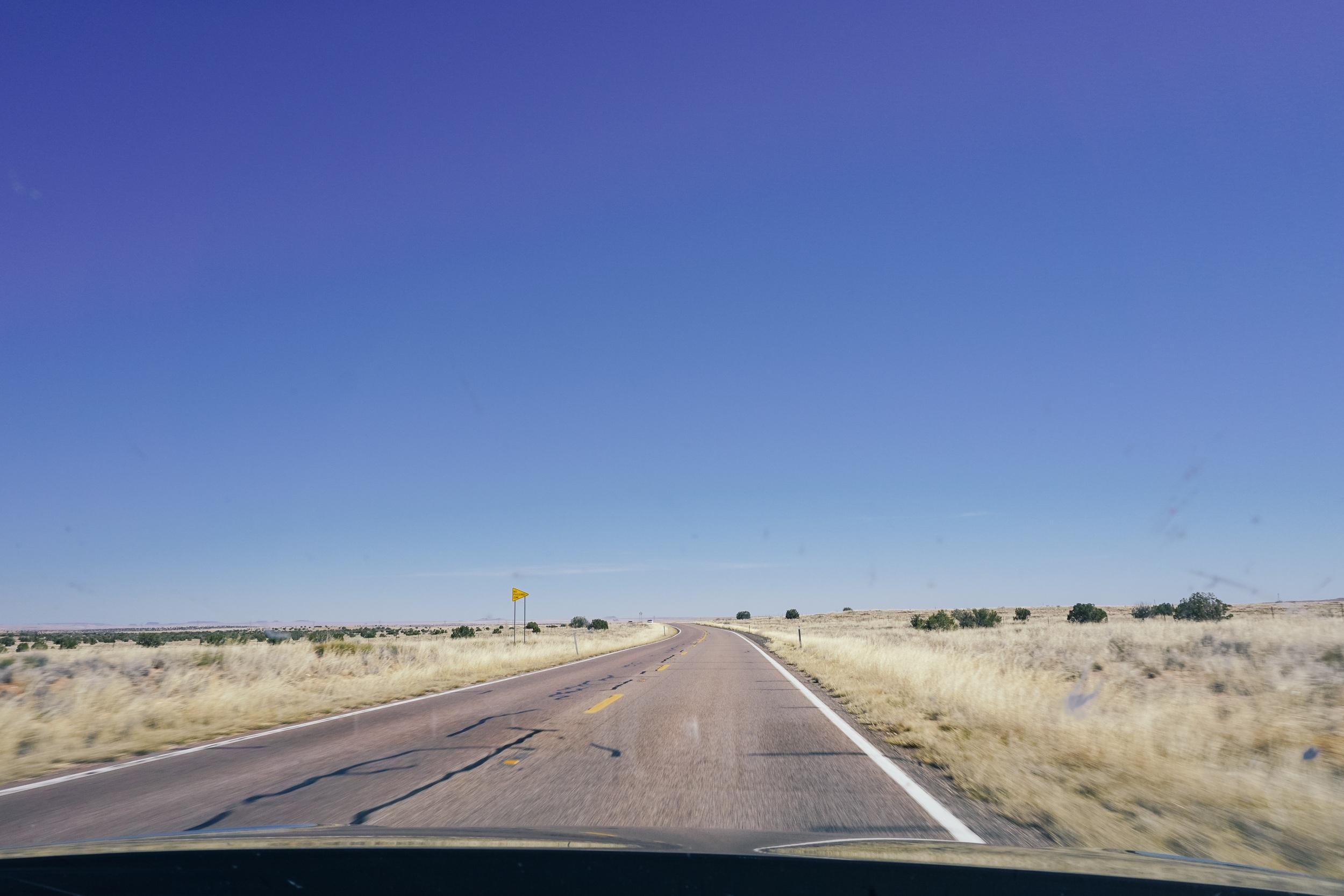 Road trip views