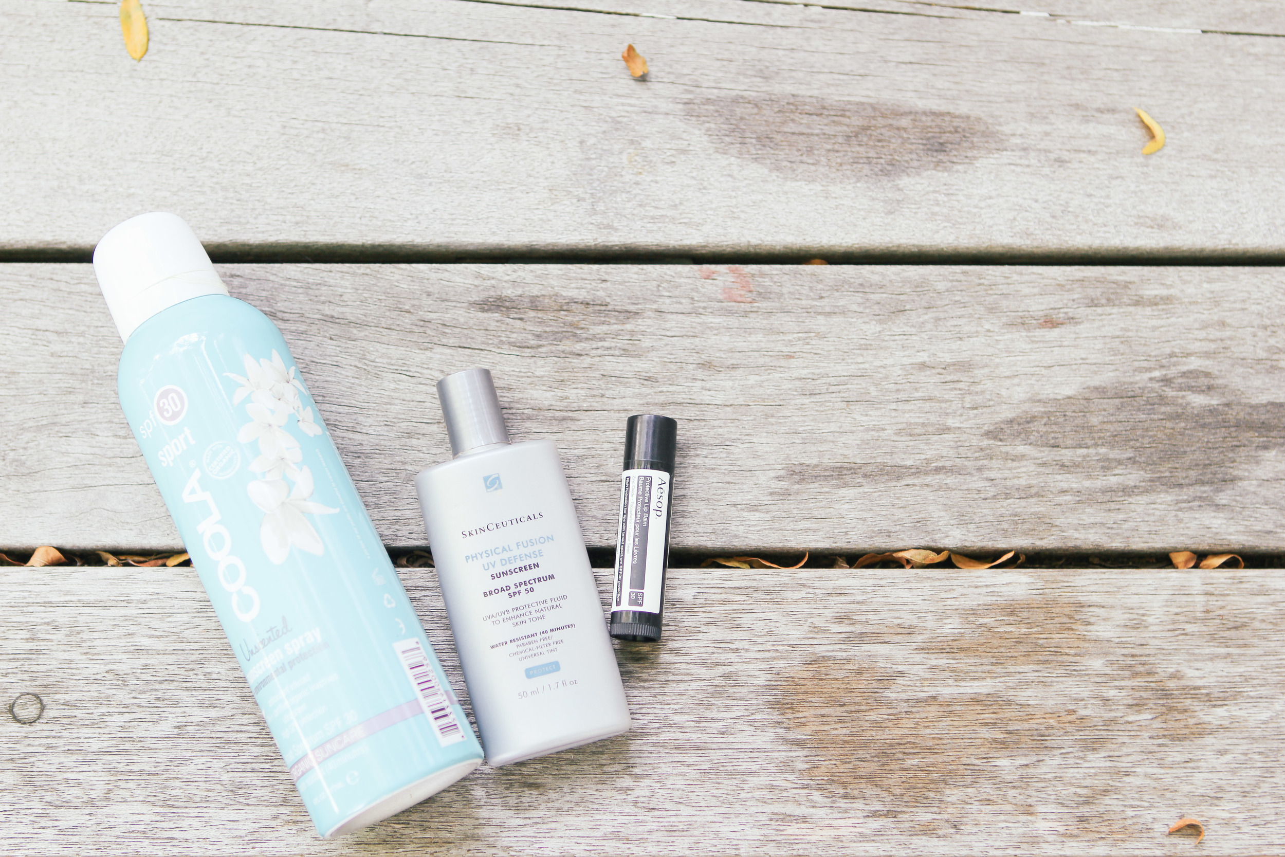 waiting for saturday : best sunscreens