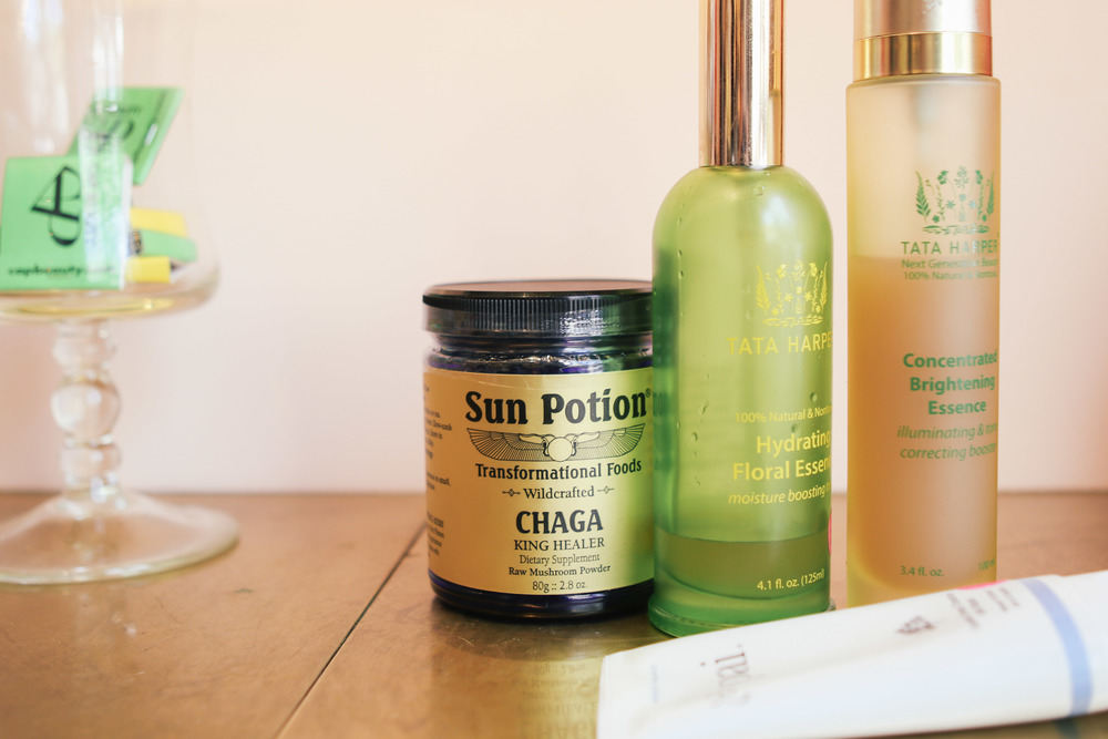 indulge in some natural beauty products