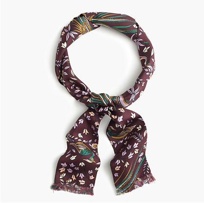 """As a new mom, scarves are basically the only things that make me feel like I've put a bit of effort in when I leave the house. This one is particularly pretty in that fall-ish palette."" - Olivia"