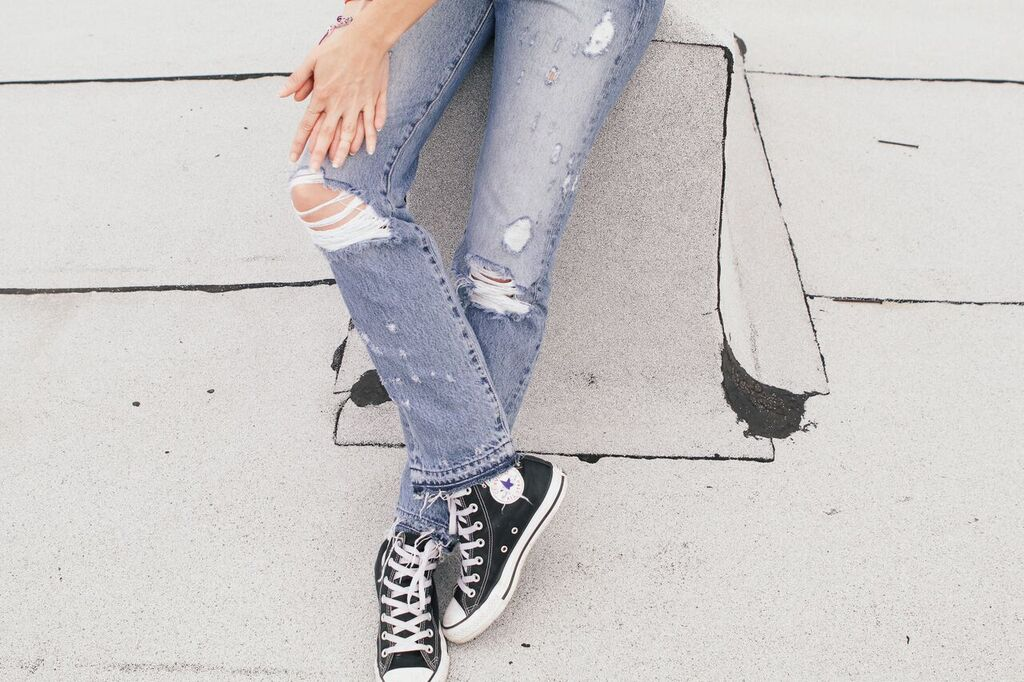 waiting for saturday : meredith jenks AYR jeans