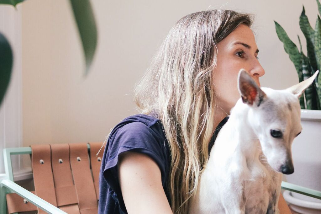 waiting for saturday : meredith jenks and dog mouse