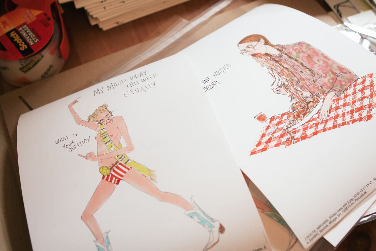 waiting for saturday : julie houts illustrations