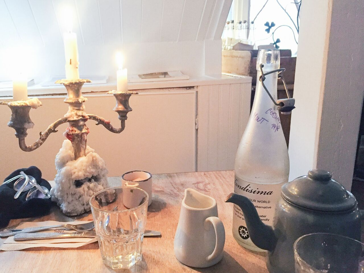 Candlelit lunch, Ard Bia, Galway