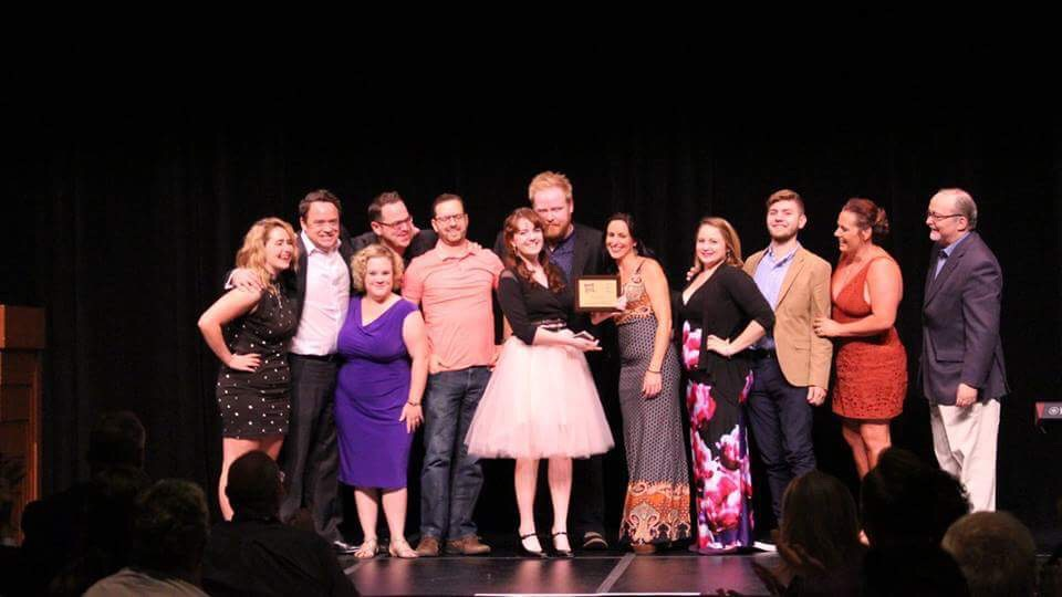 "Cockroach Theatre Co. - Winner of Best Production of A Play at the previous 2015-2016 awards for ""the Nether."""