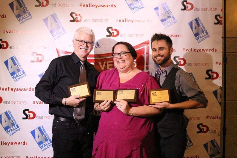Las Vegas Little Theatre won several awards for their musical Avenue Q, and their comedy Casa Valentina in 2015-2016
