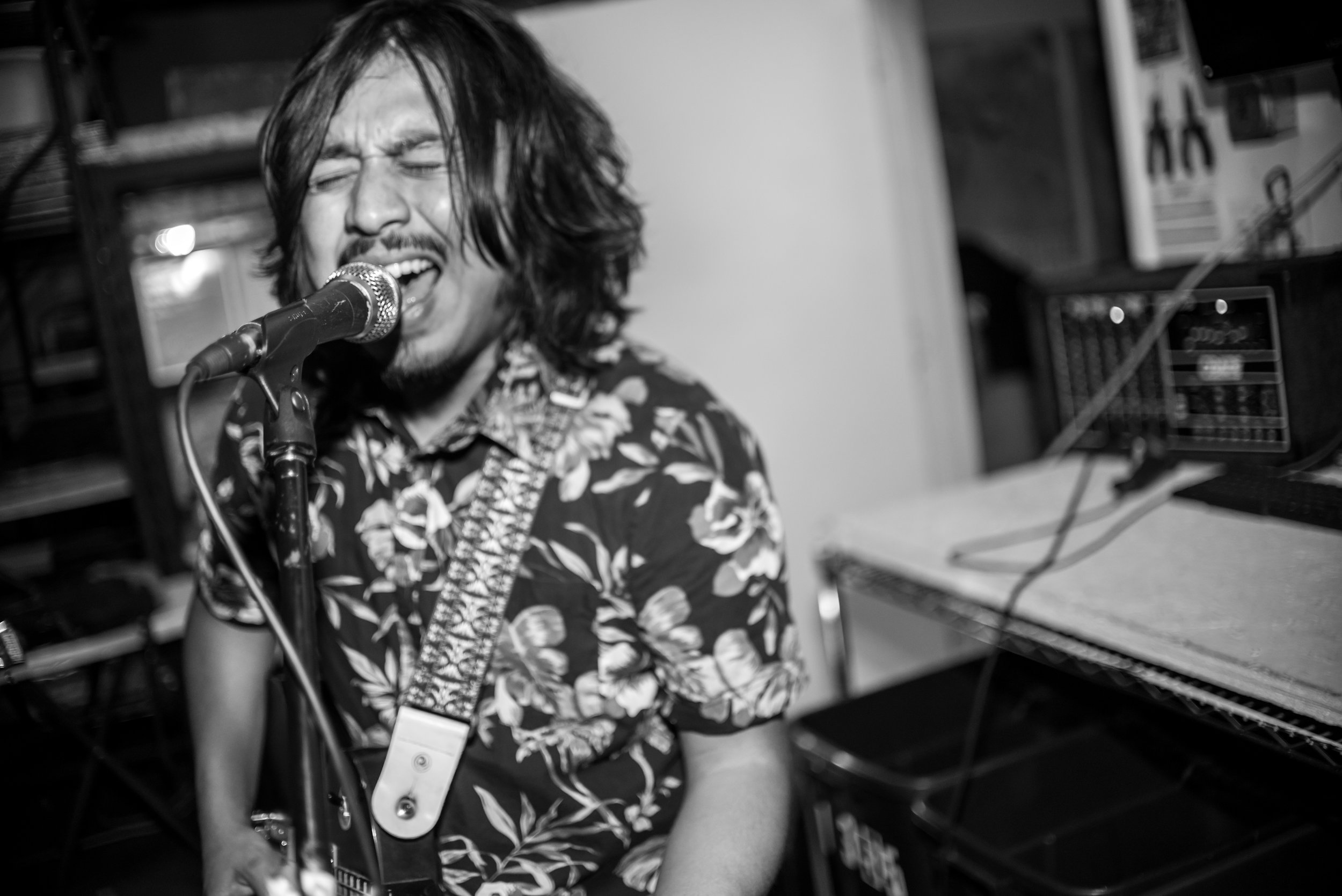 """""""Allooo there! This is Miguel Flores, and I've been guitarist and vocalist for Kurumpaw since the start of the band. So almost three years, """""""