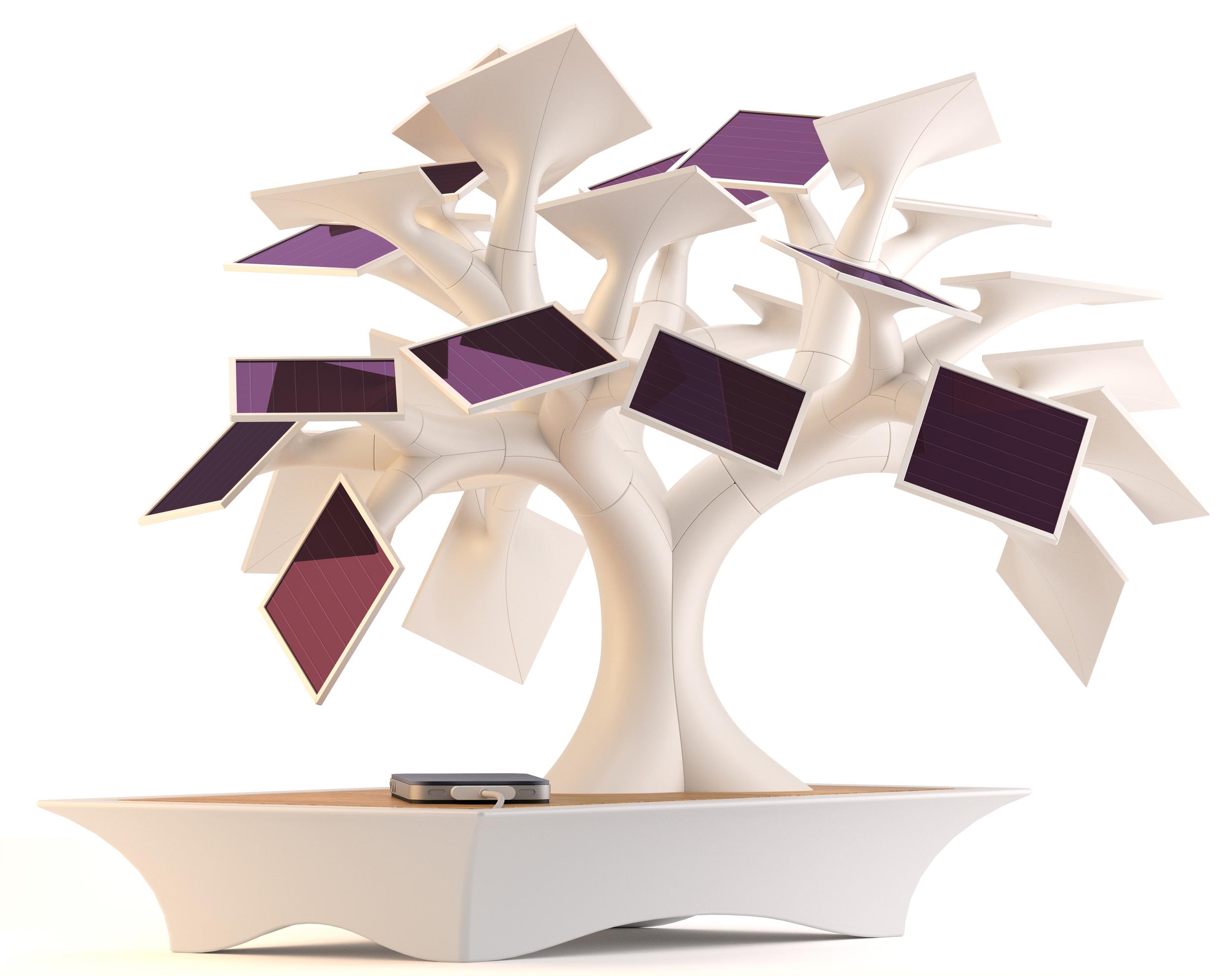 Electree, the solar tree by Vivien Muller