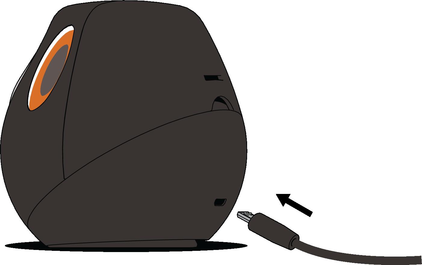 4. Comment insérer le câble USB