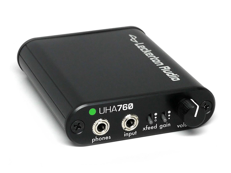 UHA760 Advanced Asynchronous USB DAC/Amp with Digital Volume Control and Crossfeed