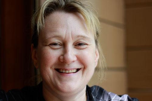 Jana Berger, Gastgeberin und Köchin des Hauses
