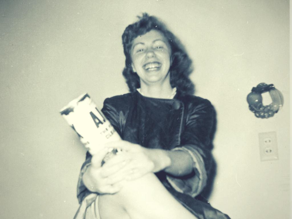 My Grandma Santilli, circa 1950s. What a Fox.