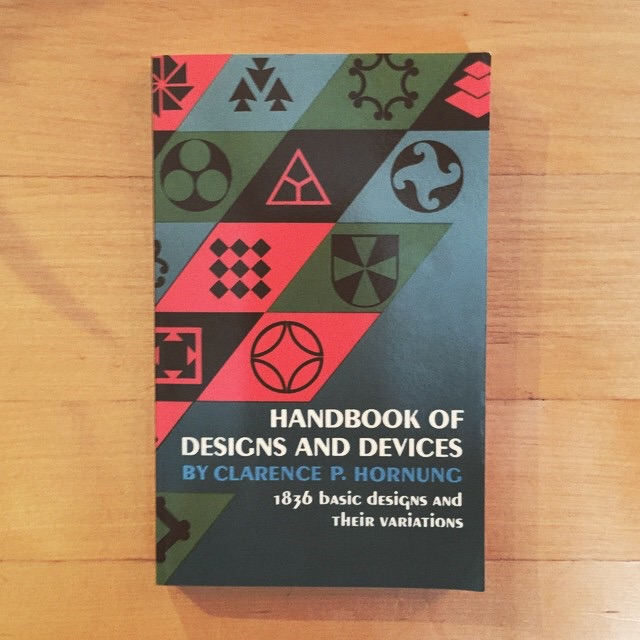 Handbook of Designs and Devoces by Clarence Hournung