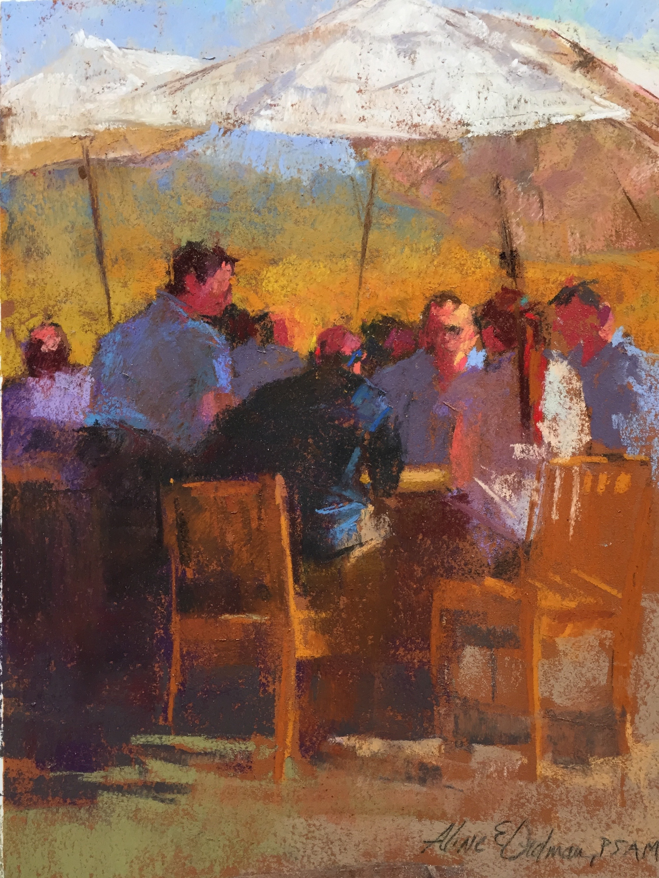 Winery Lunch 12 x 16
