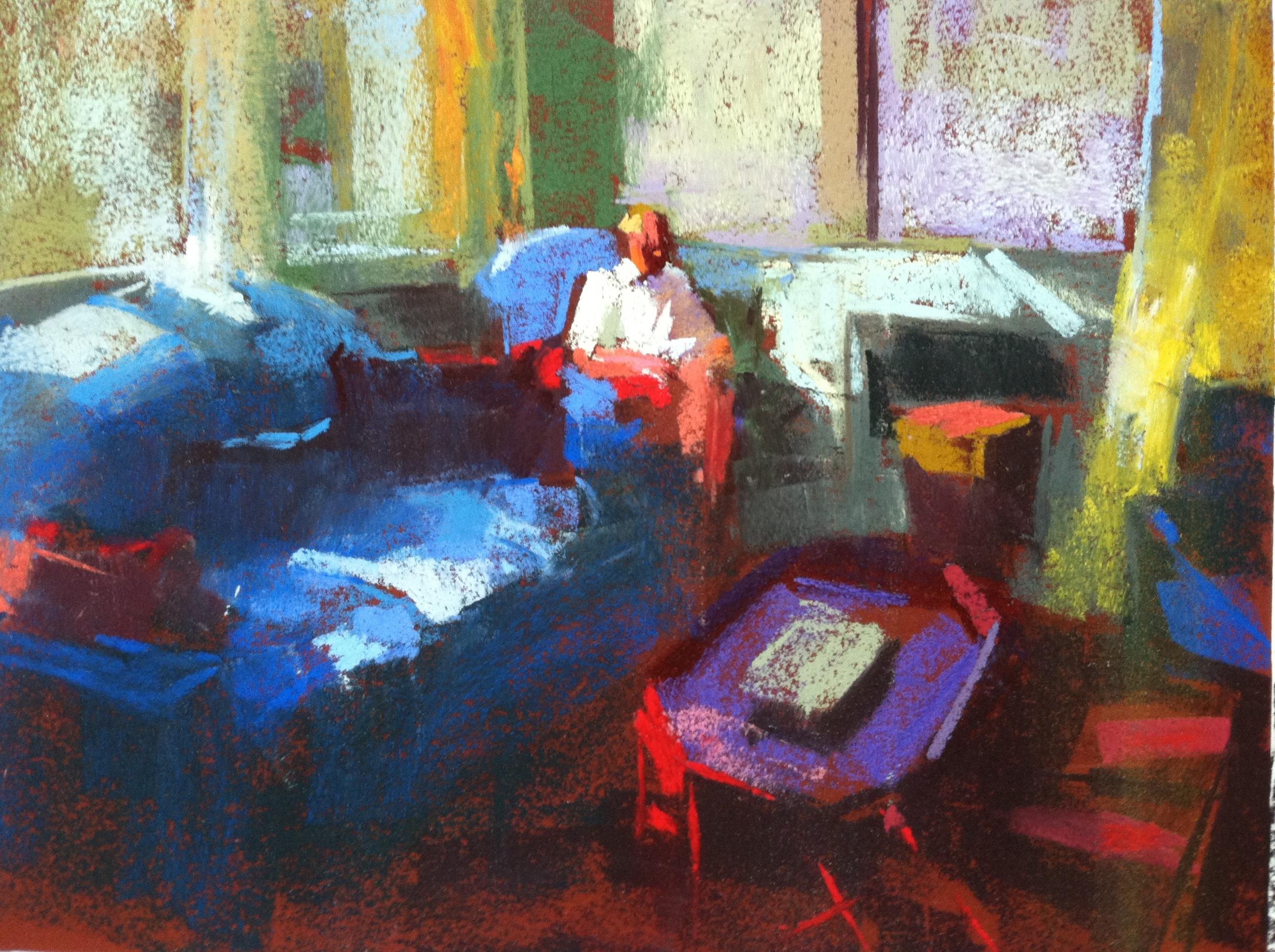 Sitting Room  9 x 12