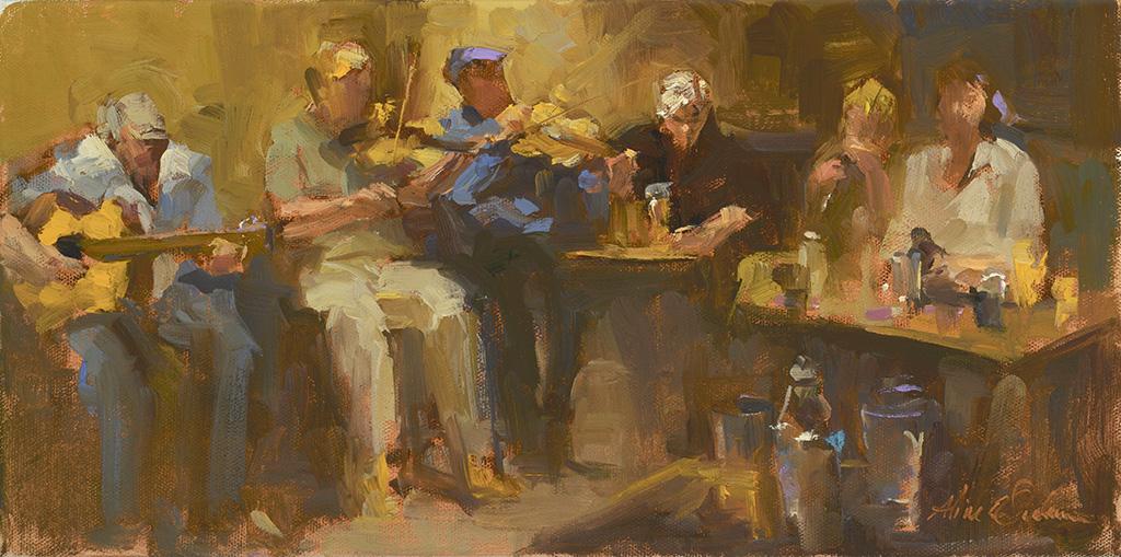 Irish Pub 8 x 16 o/c