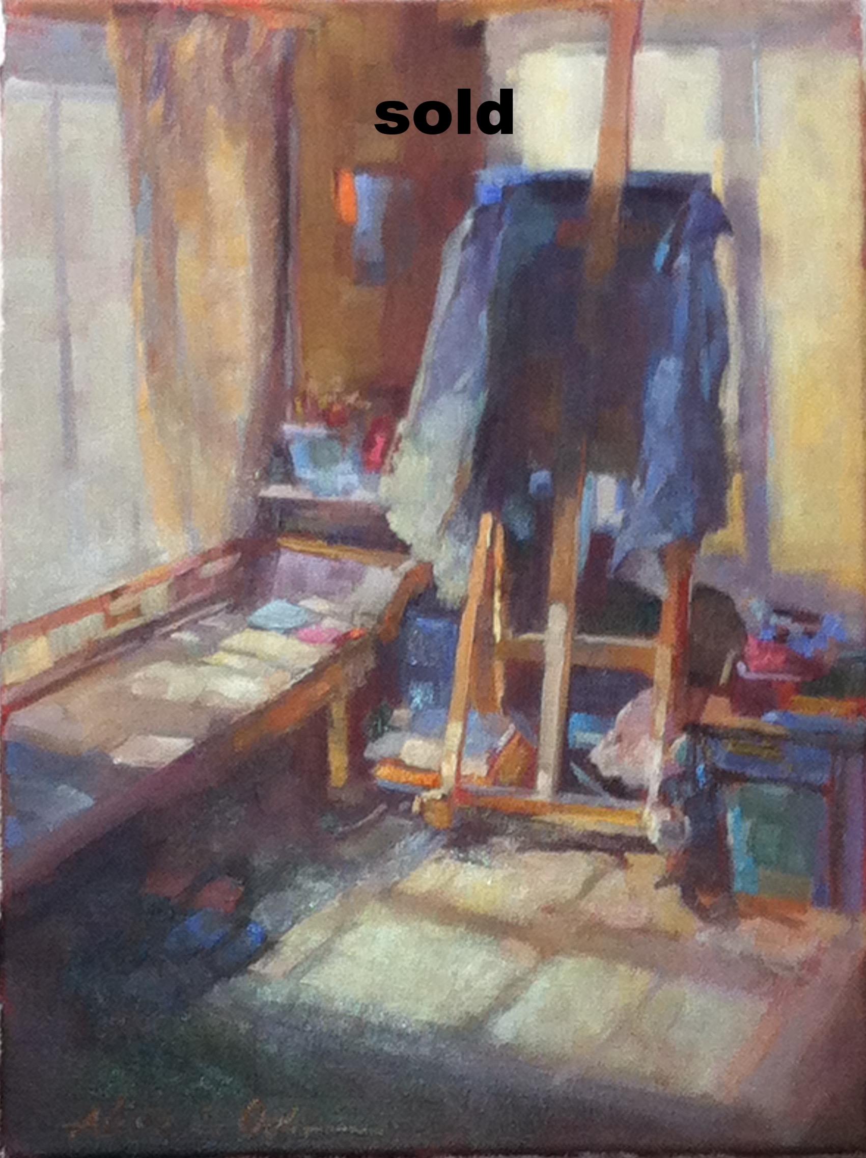 Jane's Studio 12 x 16 o/c