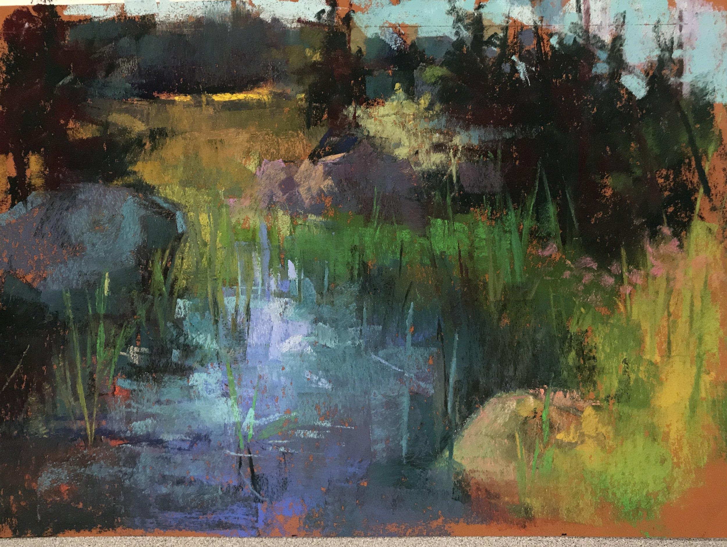 Pond Adirondack Park 2