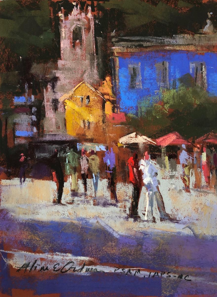 Sintra Square pastel 9x 12