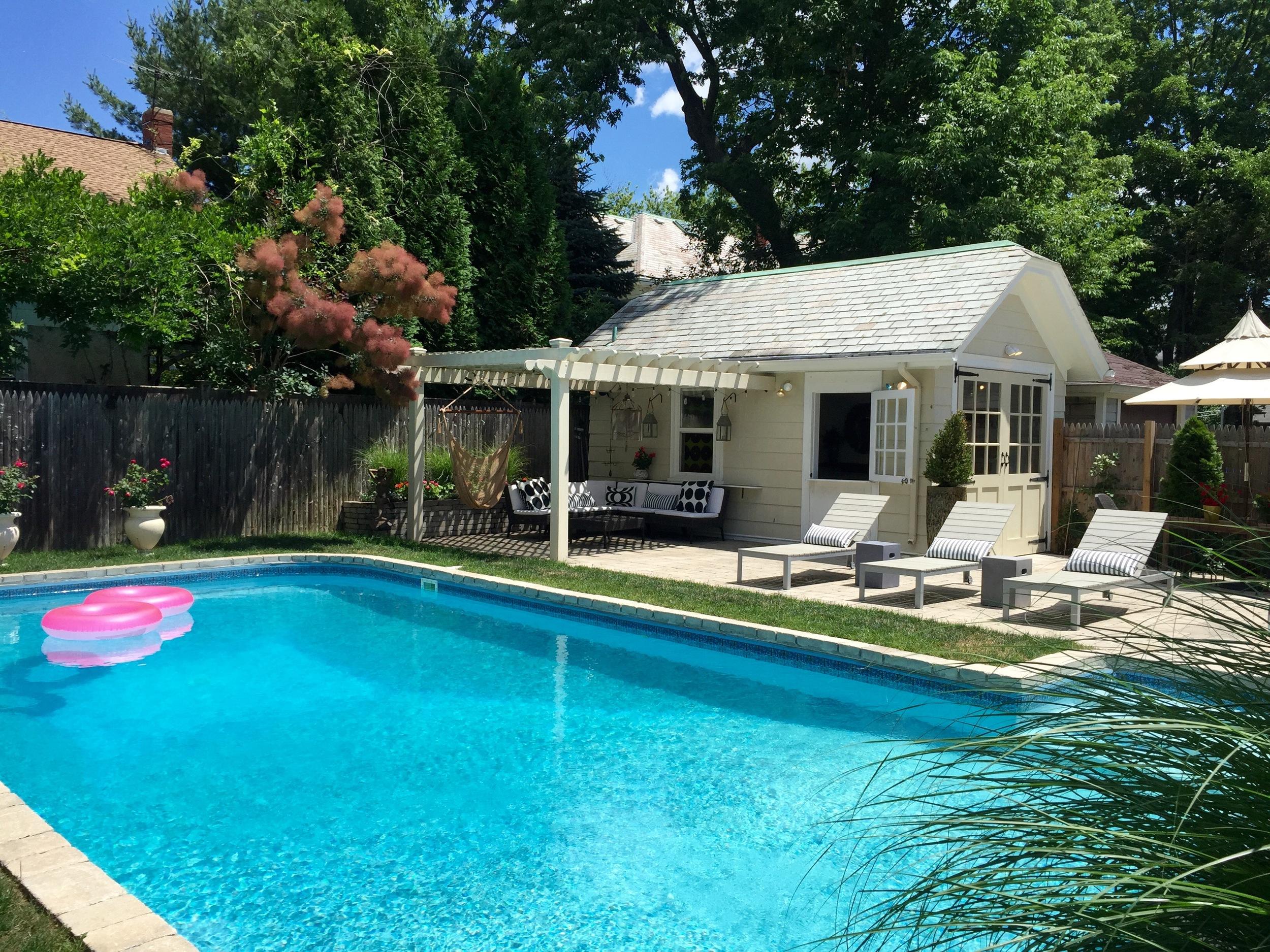 Pawtucket Pool Garden