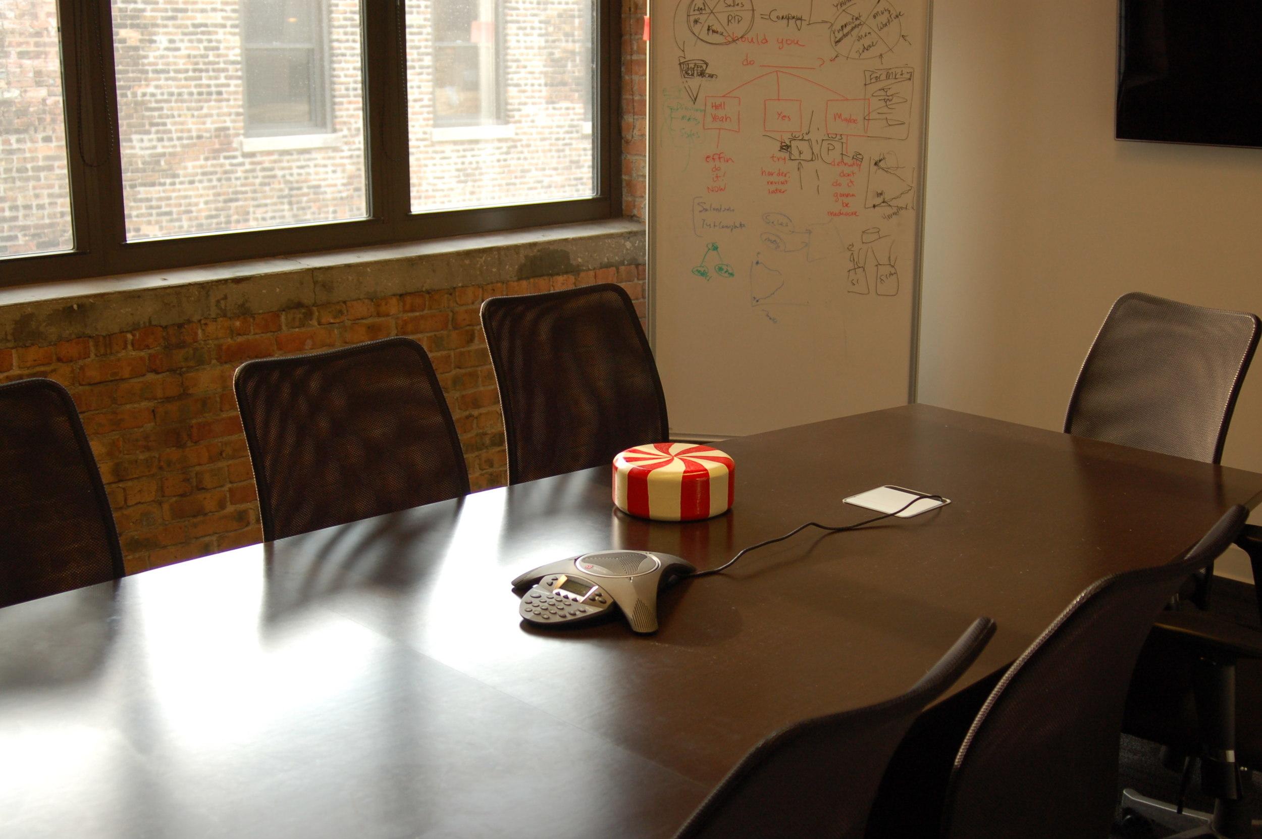 Social Media Company Conference Room