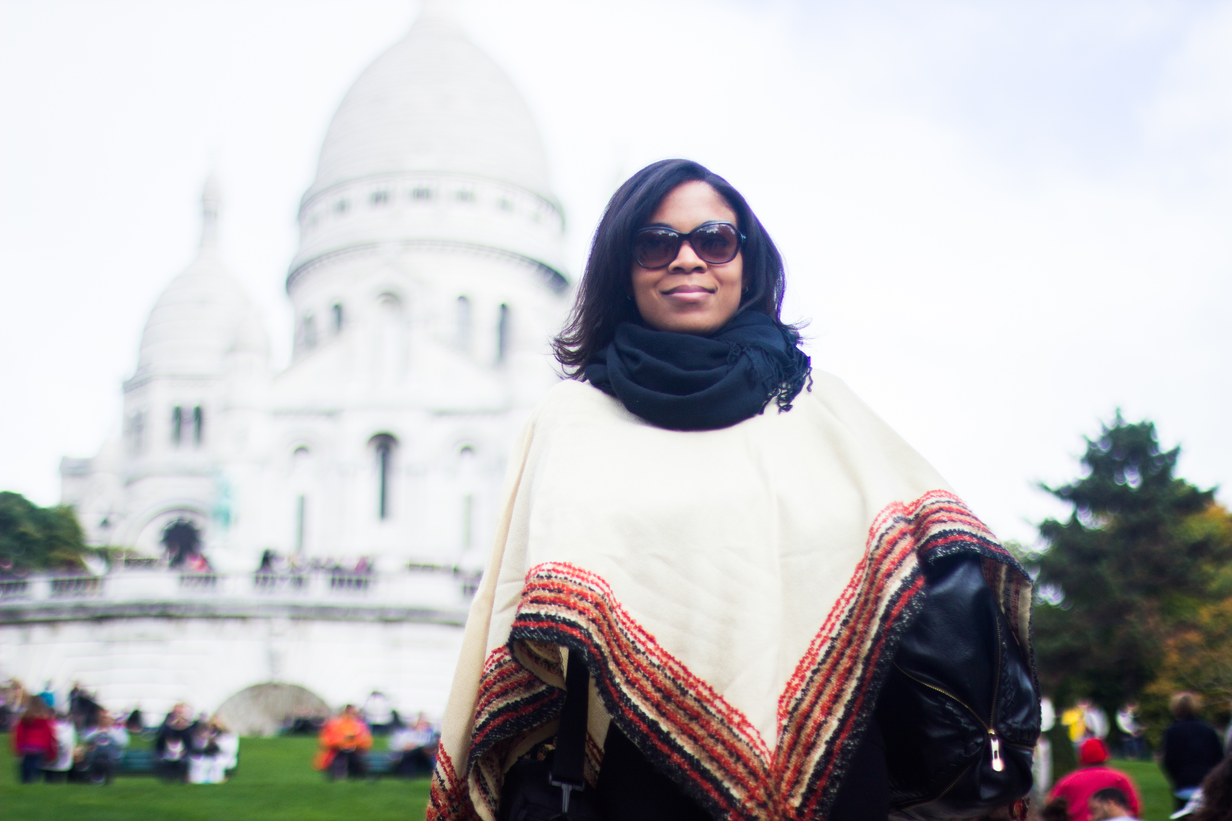 H+ | Executive Director Porshia Derival looking as fabulous as always in Montmartre.