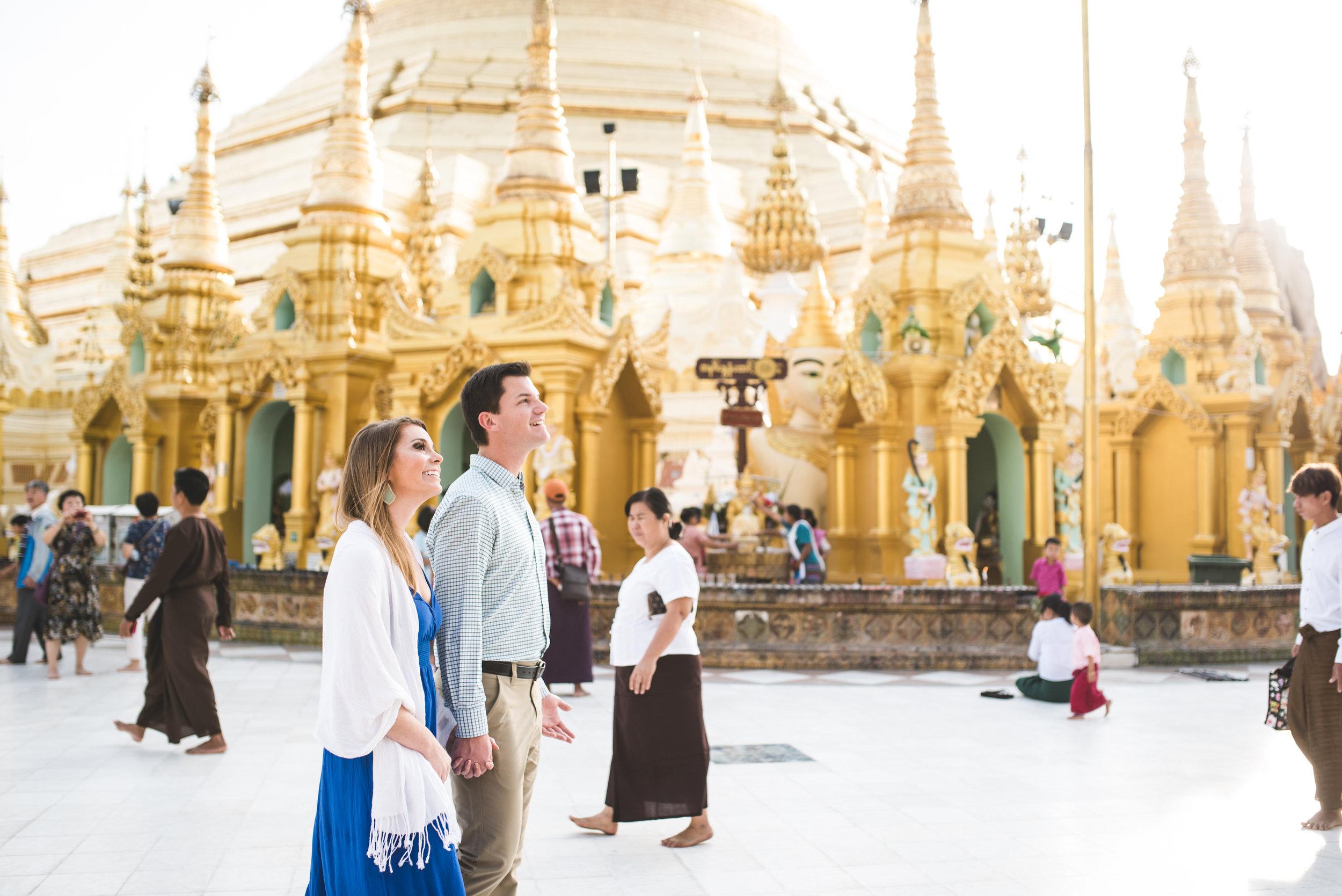 Yangon couple photo shoot